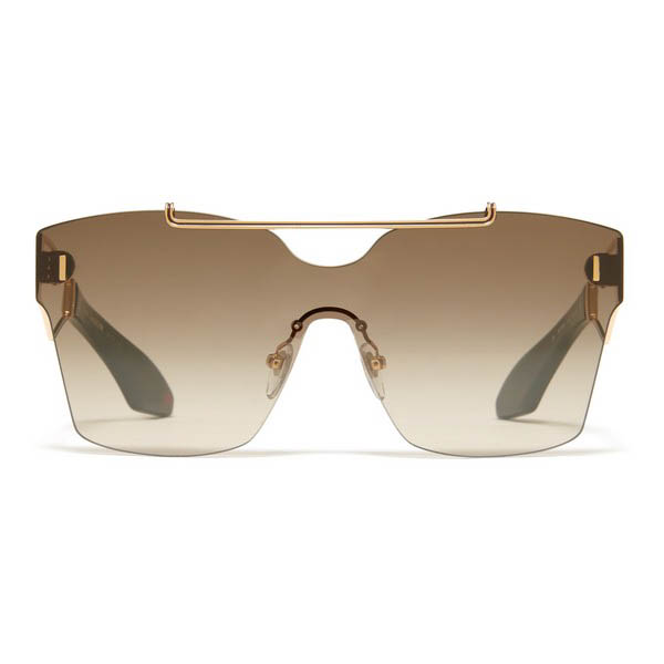 Philippe Chevallier Mask 06 PC 7002 Unisex Sunglasses Rose Gold/Tort