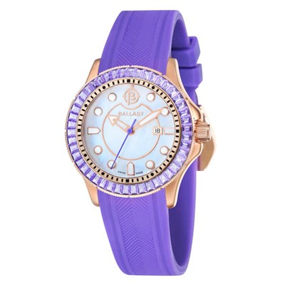 Ballast Ladies Vanguard Watch with Silicone Strap