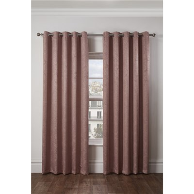 Regency Blackout Eyelet Curtains - 66 Inch