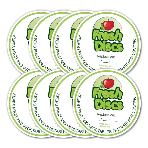 Fresh Discs 8 Pack By Must Have Solutions No Colour
