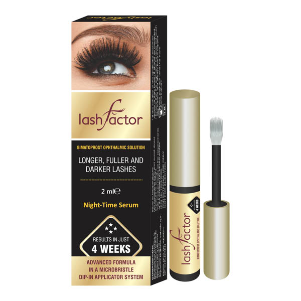Lashfactor Eyelash Rapid Growth Solution No Colour