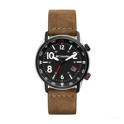 Columbia Gent's Outbacker Watch with Genuine Leather Strap