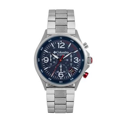 Columbia Gent's Canyon Ridge Chronograph Watch with Stainless Steel Bracelet