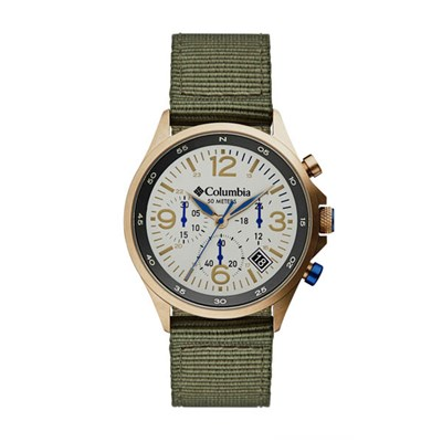 Columbia Gent's Canyon Ridge Chronograph Watch with Nato Strap