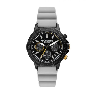 Columbia Gent's Peak Patrol IP Chronograph Watch with Silicone Strap