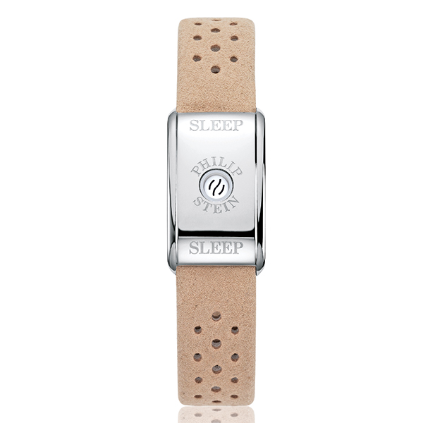 Philip Stein Classic Sleep Bracelet Stainless Steel Case - Comes in Beige and Black Beige