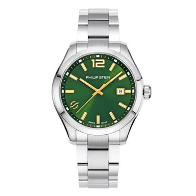 Philip Stein Men's Traveler 42mm Watch - Comes in Blue or Green Dial