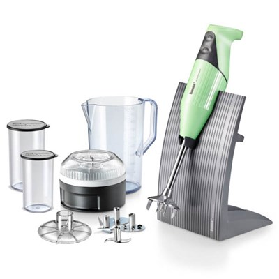 Bamix Model D 200W Blender Bundle with Accessories