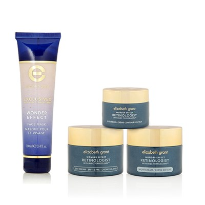 Elizabeth Grant 4pc Retinologist Collection (Day, Night and Eye Cream and Facemask)