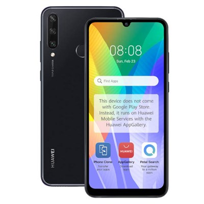HUAWEI Y6p - 6.3inch Dewdrop Display, Triple Rear Cameras, 64GB Storage, 3GB RAM