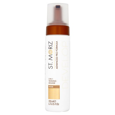 St Moriz Advanced Pro Formula 5 in 1 Mousse
