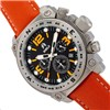 Shield Gents Tesei Chronograph Divers Watch with Genuine Leather Strap