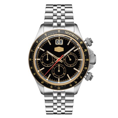Duxot Gent's Accelero Chronograph Watch with Stainless Steel Bracelet
