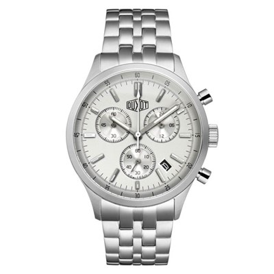 Duxot Gent's Audentis Chronograph Watch with Stainless Steel Bracelet
