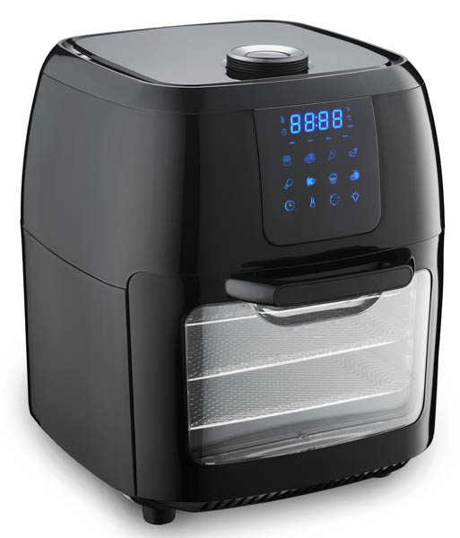 Innoteck Kitchen Pro 1800W, 12L Digital Air Fryer with Mutli Cook Function and Internal Chip Basket No Colour