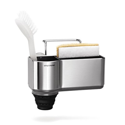 simplehuman KT1116 Sink Caddy, Stainless Steel