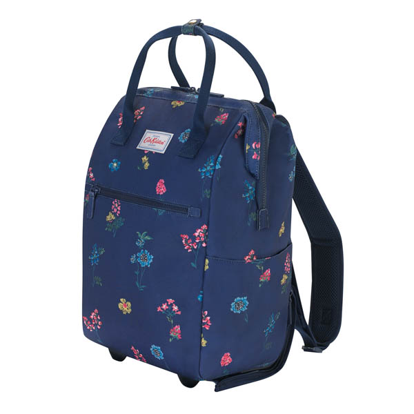 Cath Kidston Wheel Backpack Twilight Sprig