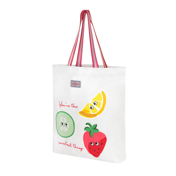 Cath Kidston Perfect Webbing Shopper Fruit The Sweetest Thing