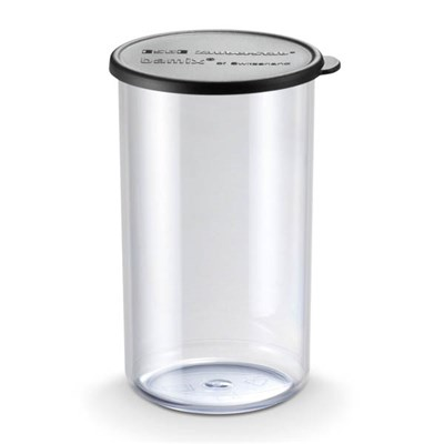 Bamix Beaker 400ml and Black Lid