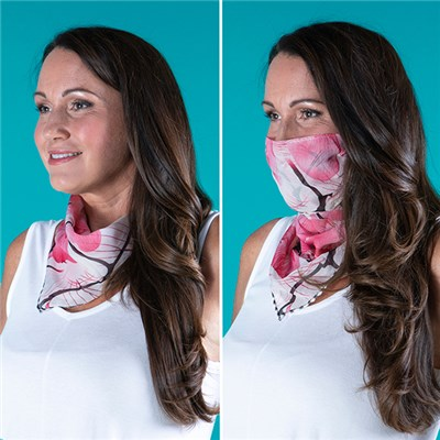 Kasara 2 in 1 Face Covering and Scarf