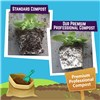 Twin Pack Compost 40L with Bonus 50g Fertiliser