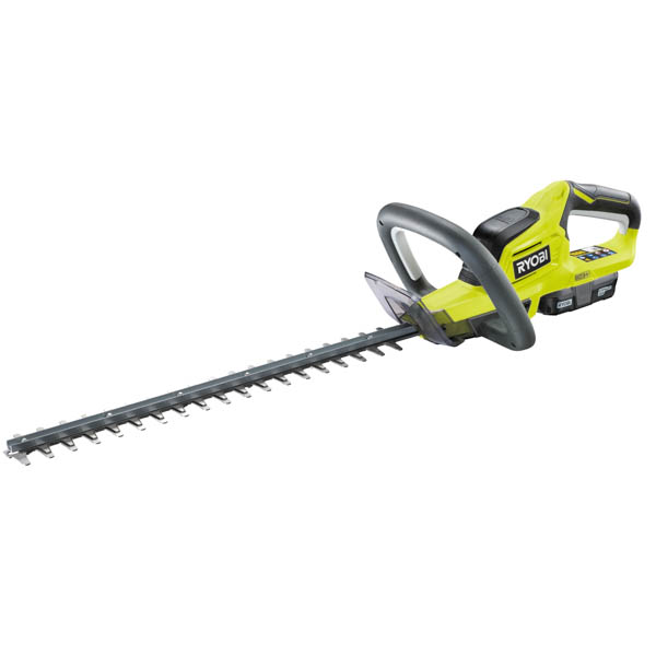 Ryobi 18v One+ RHT184513S Cordless Hedge Trimmer, 1.3Ah Battery and Charger No Colour