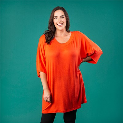 Join Round Neck Longline Tunic