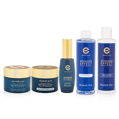Elizabeth Grant New Year New You 5pc Collection (Serum, Day & Night Cream, Cleanser, Toner)