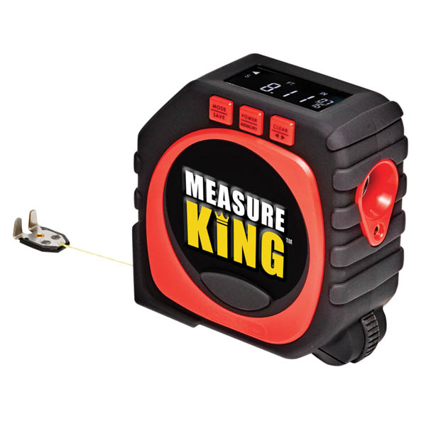 Measure King 3-in-1 Digital Tape Measure No Colour