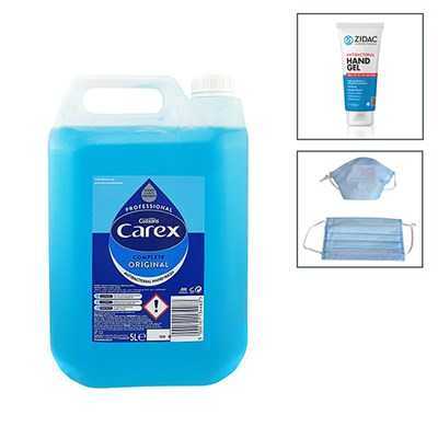 5L Carex Original Hand Wash with 300ml Hand Gel