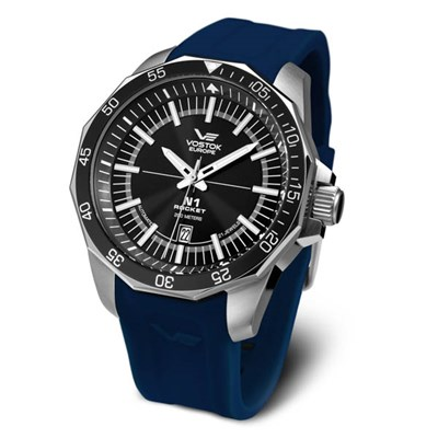 Vostok Europe Gents N1 Rocket Automatic Watch on Silicone Strap