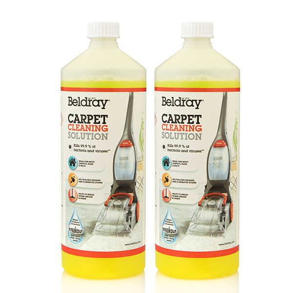 Beldray Carpet Clean and Refresh - 2 x 1-Litre No Colour