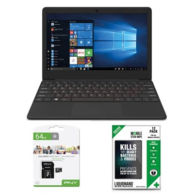 CODA Spark 11.6inch LED Full HD Display Laptop with Free 64GB Micro SD Card and Steriwipes