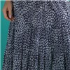 Mudflower Print Gypsy Maxi Skirt