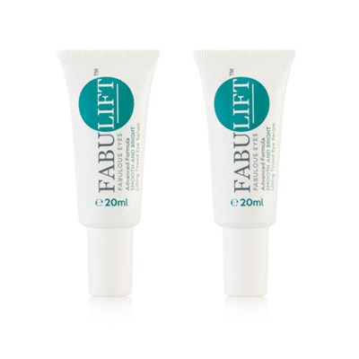 Fabulift Fabulous Eyes Advanced Formula Smooth and Bright Lifting Tinted Eye Serum 20ml Twinpack