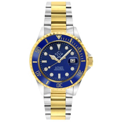 GV2 Gents Ltd Ed Liguria Swiss Automatic Ruben and Sons MD3G Watch, Two Tone Stainless Steel Bracelet