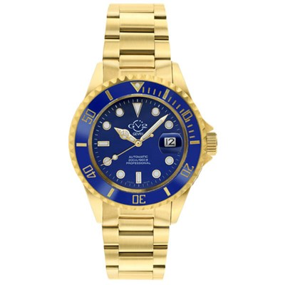 GV2 Gents Ltd Ed Liguria Swiss Automatic Ruben and Sons MD3G Watch, Stainless Steel Bracelet