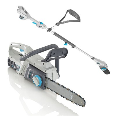 Swift 40V Chainsaw and Polesaw