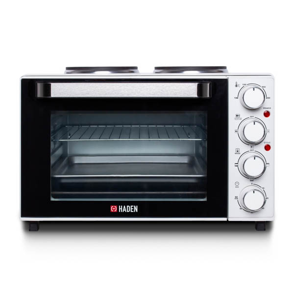 Haden 25L Multifunctional Mini Oven with Hotplates No Colour