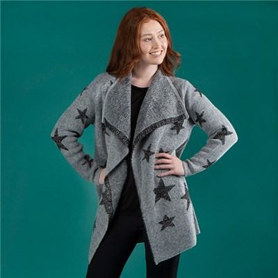 Mudflower Star Cardigan