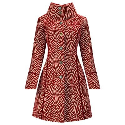 Joe Browns Jacquard Zebra Coat