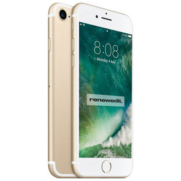 Apple iPhone 7 (32GB) RenewedIT Pre-Owned Smartphone Gold