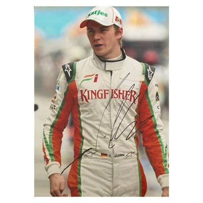 Nico Hulkenberg Colour Photo Personally Signed