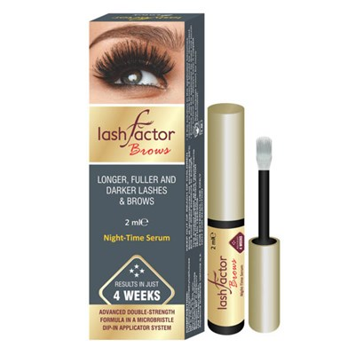 Lashfactor Eyelash and Eyebrows Rapid Growth Solution - 1-month supply