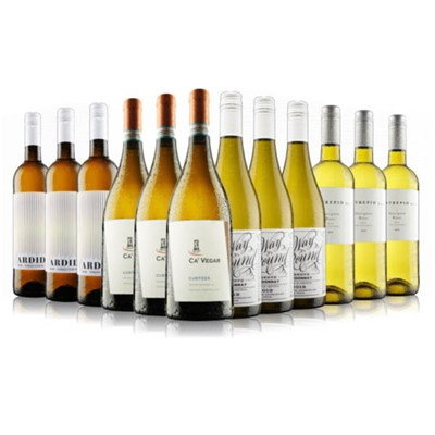 Virgin Wines Clean and Crisp White Wines 12-Bottle Case