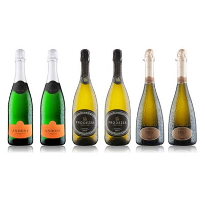 Virgin Wines 6-Bottle Prosecco and Fizz Case