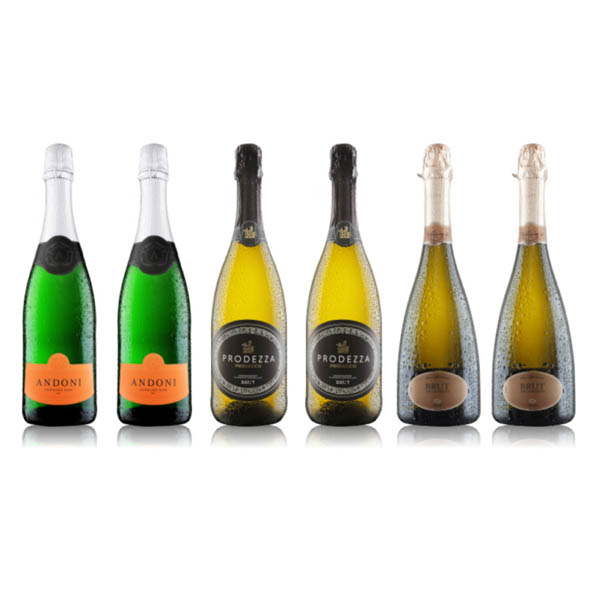 Virgin Wines 6-Bottle Prosecco and Fizz Case No Colour