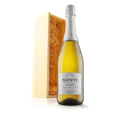 Virgin Wines Celebratory Prosecco in Wooden Gift Box