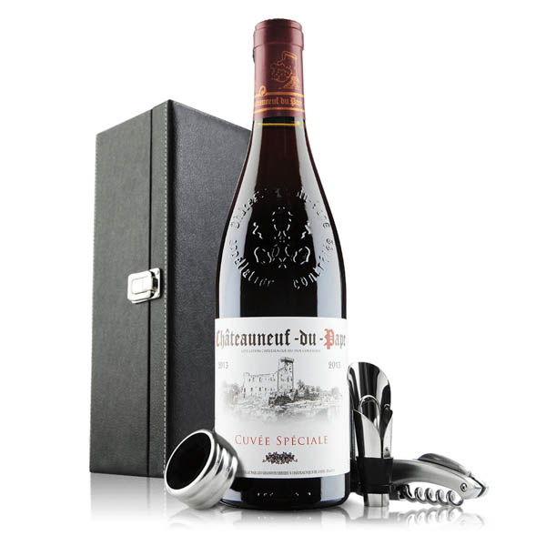 Chateauneuf Du Pape With Accessories No Colour