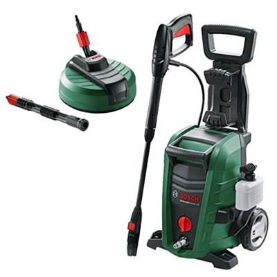 Bosch Universal Aquatak 125 High Pressure Washer and AquaSurf 280 Patio Cleaner